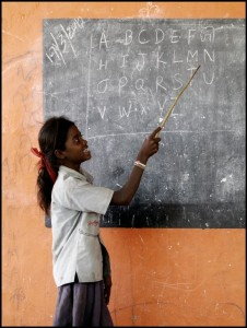 Rising lives through Education